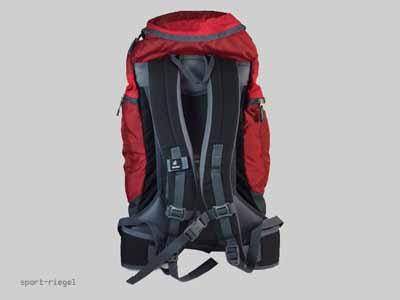 deuter rucksack schulrucksack gr den 35 dunkelrot 35l ebay. Black Bedroom Furniture Sets. Home Design Ideas