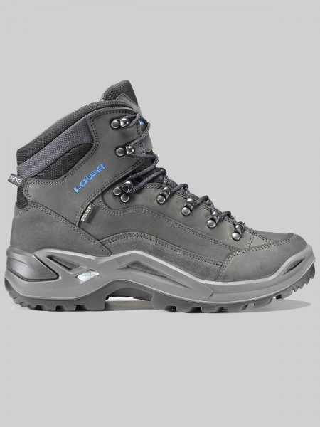 LOWA RENEGADE GTX Mid MEN - anthrazit/blau