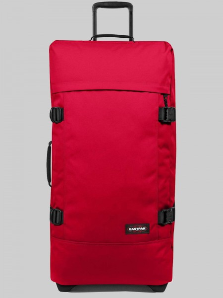 EASTPAK Trolley Koffer TRANVERZ L EK63 Sailor Red 121L mit TSA Schloss