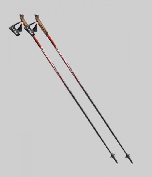 Leki Nordic Walking - Flash Trigger 1 - rot/weiss/schwarz