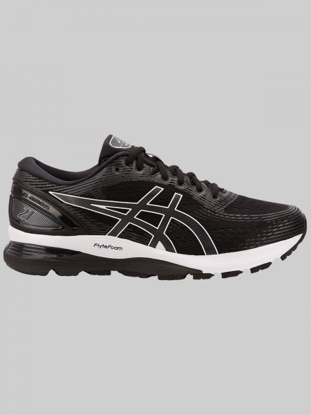 ASICS GEL-Nimbus 21 - MEN - black/dark grey