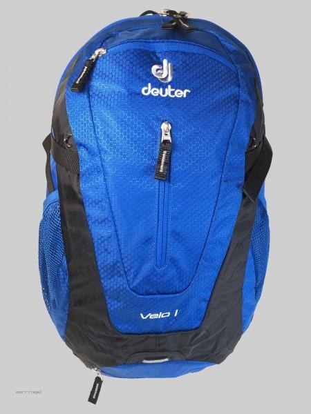 Deuter Rucksack Fahrradrucksack Velo I - blau/schwarz 20L