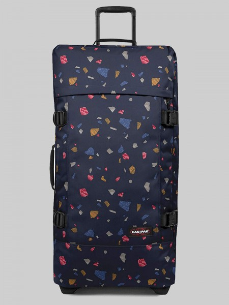 EASTPAK Trolley Koffer TRANVERZ L EK63 Terro Night 121L mit TSA Schloss