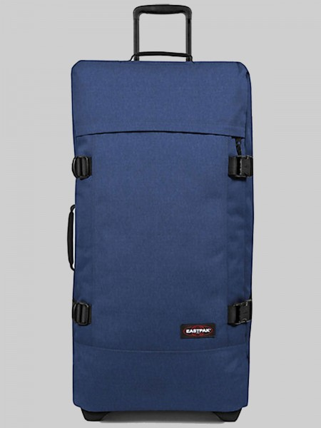EASTPAK Trolley Koffer TRANVERZ L EK63 Crafty Blue 121L mit TSA Schloss
