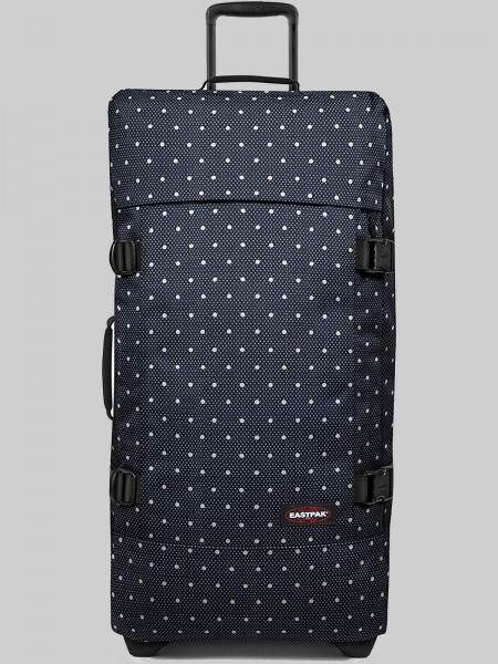 EASTPAK Trolley Koffer TRANVERZ L EK63 Little Dot 121L mit TSA Schloss