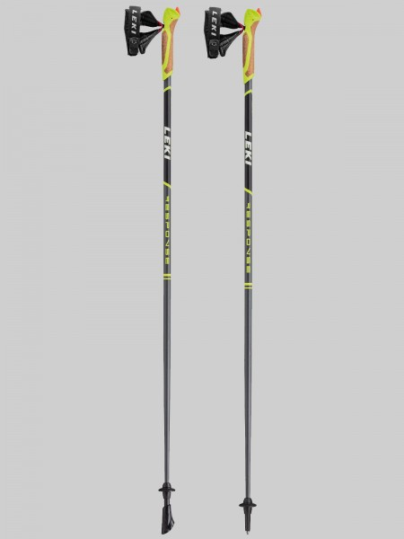 Leki Nordic Walking - Response Neu - anthr./black/white/green