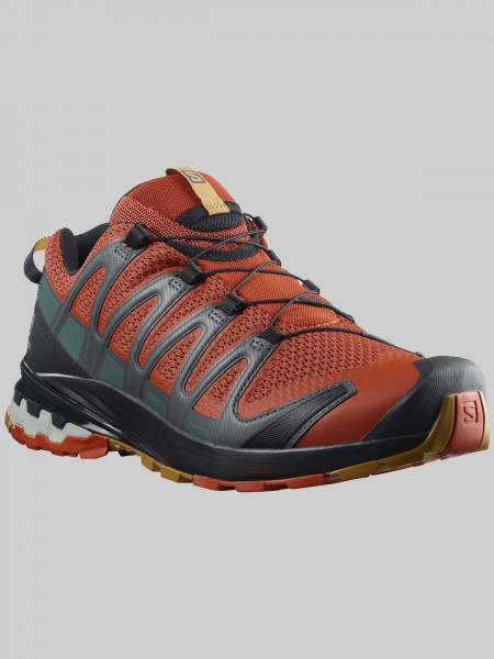 Salomon XA Pro 3D V8 - MEN - rooibos tea/black/cumin
