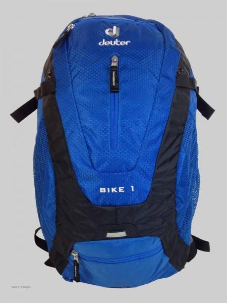 Deuter Rucksack Fahrradrucksack Bike One - blau/schwarz
