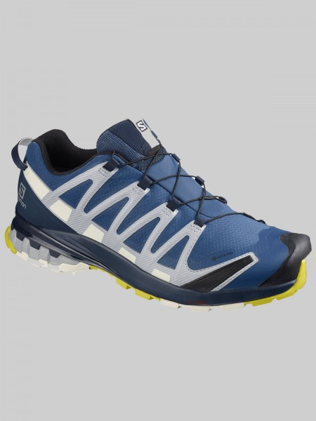 Salomon XA Pro 3D V8 GTX - MEN - dark denim/navy blazer/vanilla ice