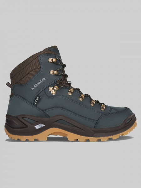 LOWA RENEGADE GTX Mid - MEN - navy/honig