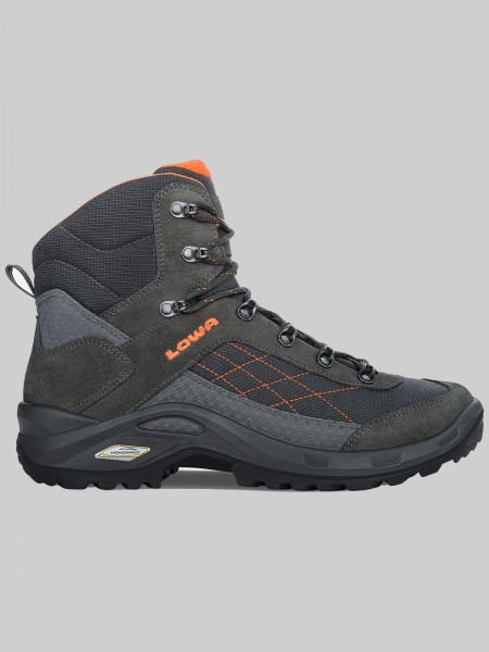 LOWA Taurus GTX Mid - MEN anthrazit/orange