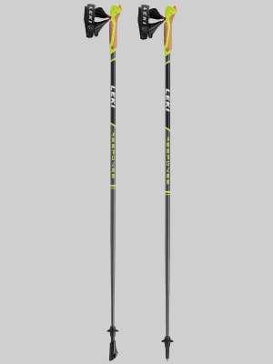 Leki Response anthrazit mit schwarz weiss grün Nordic Walking Stöcke 65025201