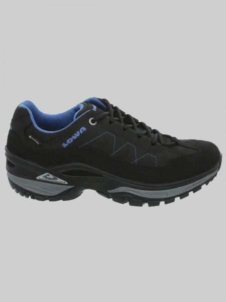 LOWA Teramo GTX Lo - MEN - schwarz/blau