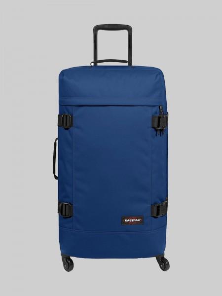 EASTPAK Trolley Koffer TRANS4 L K821 Bonded Blue 80L