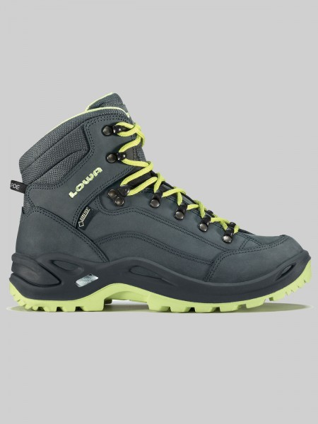 LOWA Damen Outdoorschuh Renegade GTX MID - grau/mint