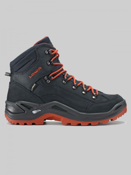 LOWA RENEGADE GTX Mid - MEN - navy/rost