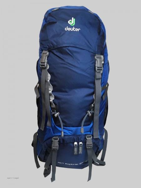 Deuter Trekking Rucksack ACT Explorer 55 + 10 - Blau