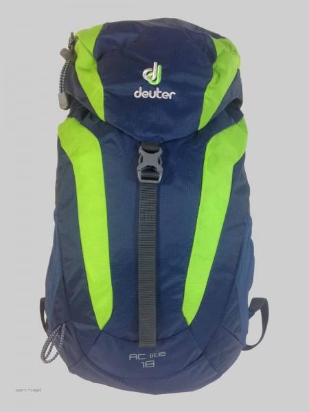 Deuter Rucksack Wanderrucksack AC Lite 18 - midnight/kiwi blau/grün 18L