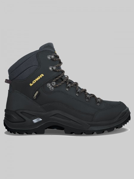 LOWA RENEGADE GTX Mid - MEN - anthrazit/senf
