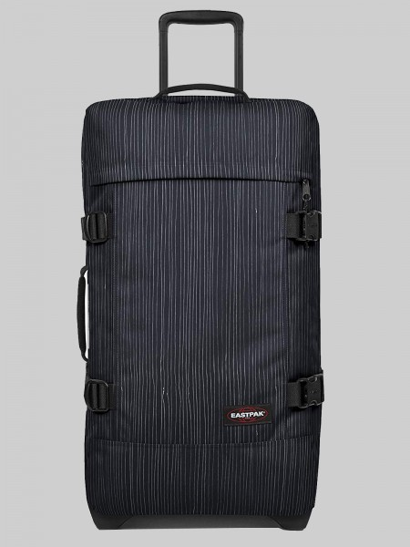 EASTPAK Trolley Koffer TRANVERZ M K662 Stripe-It Cloud 78L mit TSA Schloss