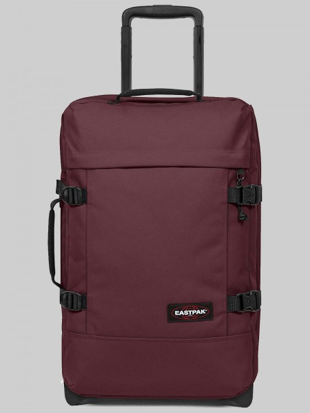 EASTPAK Trolley Koffer TRANVERZ S EK61 Upcoming Wine 42L mit TSA Schloss