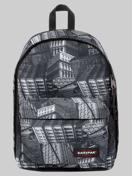 EASTPAK Schulranzen Rucksack Out Of Office EK52080V Chroblack 27L