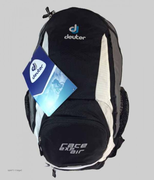 Deuter Rucksack Race EXP AIR - black/white 12 + 3L NEU