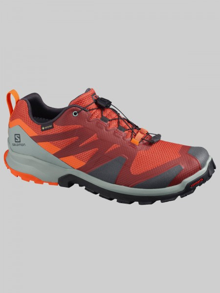 Salomon XA Rogg GTX - MEN -burnt brick/phantom/red orange