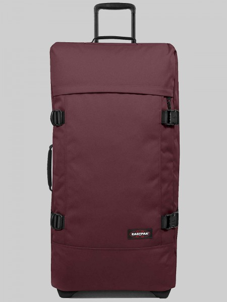EASTPAK Trolley Koffer TRANVERZ L EK63 Upcoming Wine 121L mit TSA Schloss